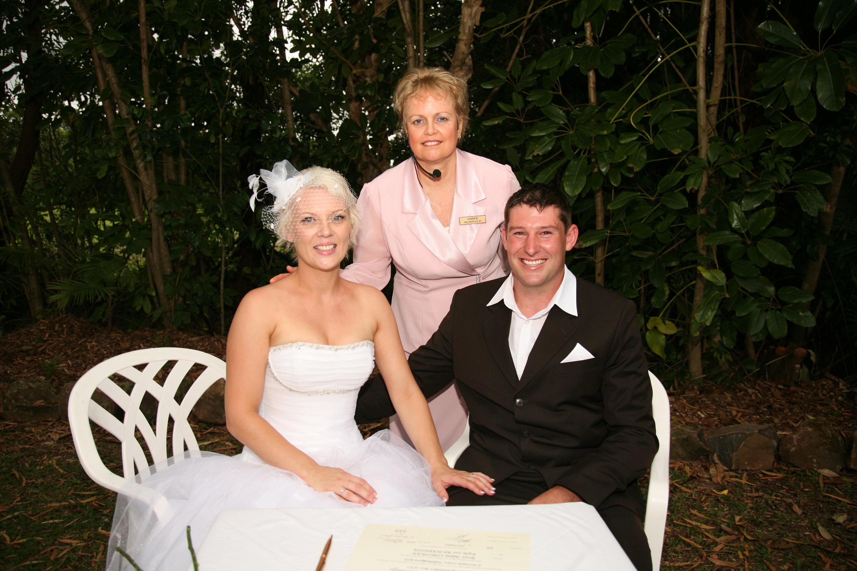 Brett & Kylie - Marriage Celebrant Amber Everingham
