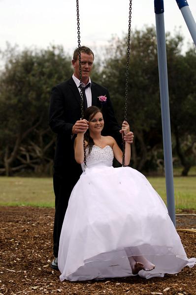 Jaab & Tionie on swing